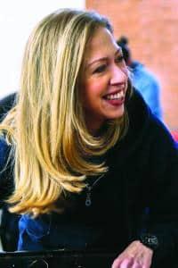 Chelsea Clinton (image via Octavia Books)