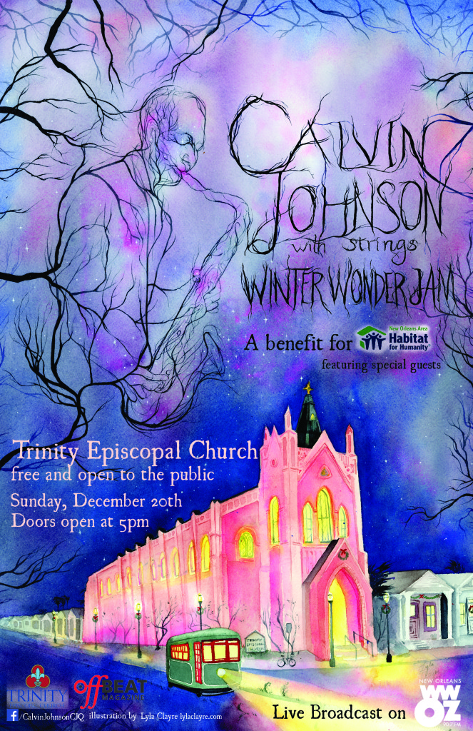 Third Annual Calvin Johnson christmas concert