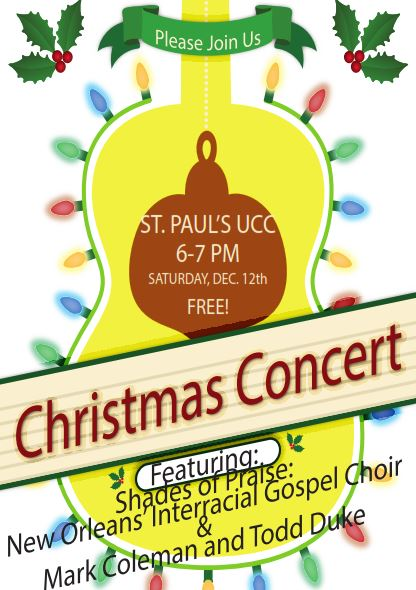 St. Paul's UCC christmas concert