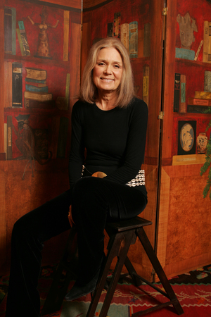 Gloria Steinem as photographed by Annie Leibowitz (via octaviabooks.com)