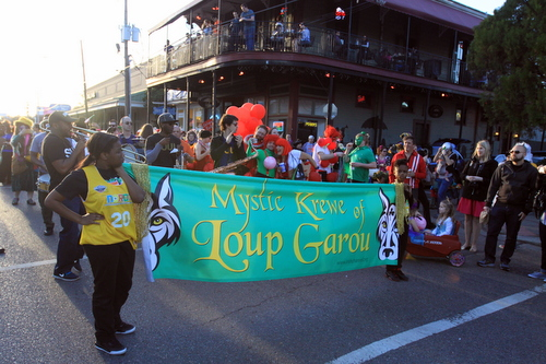 Photos from the Mystic Krewe of Loup Garou. (Robert Morris, UptownMessenger.com)