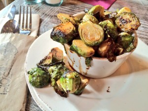 Maple Roasted Brussel Sprouts (Kristine Froeba)