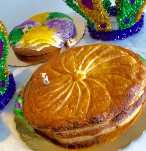 La Boulangerie Galettes des Rois and Cream Cheese King Cake