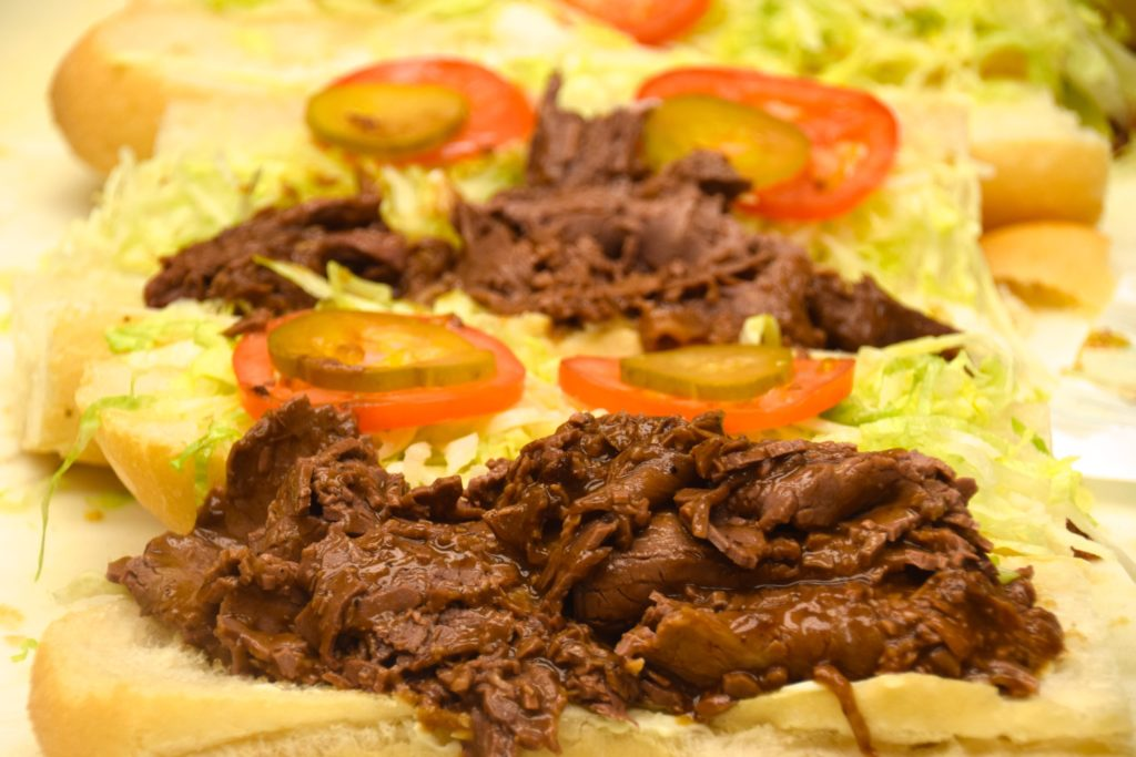 Roast Beef Po-Boy from Guy's (Kristine Froeba)