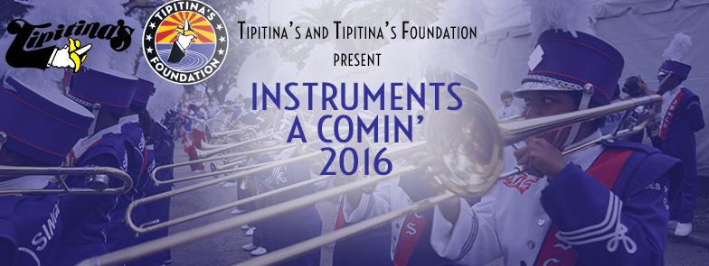 Instruments A Comin' 2016