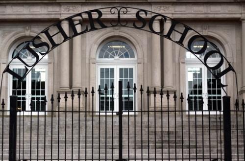 Lusher Charter School. (Robert Morris, UptownMessenger.com)