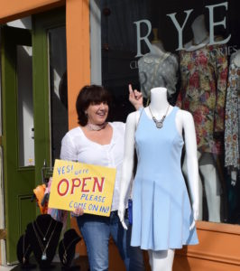 Gisele Cosma, Owner of Rye Clothing