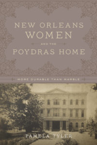 New Orleans Women and The Poydras Home book jacket cover HIGH RESOLUTION