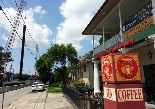 Village Coffee on Freret Street is closed and for lease. (Robert Morris, UptownMessenger.com)