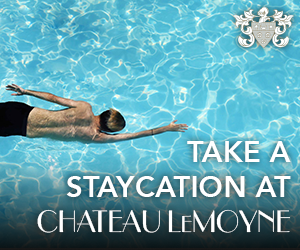 Staycation - Swimming at Chateau LeMoyne in New Orlean