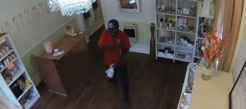 Suspect in August theft from 3600 block of Magazine Street. (via NOPD)