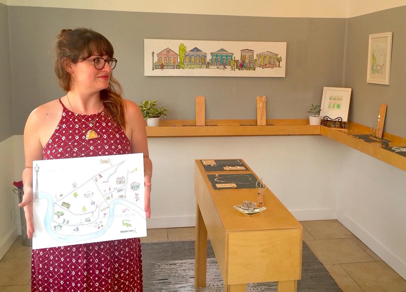 StayLocal presents Shopkeeper Stories: Maggie Covert of WalkingMan Studios