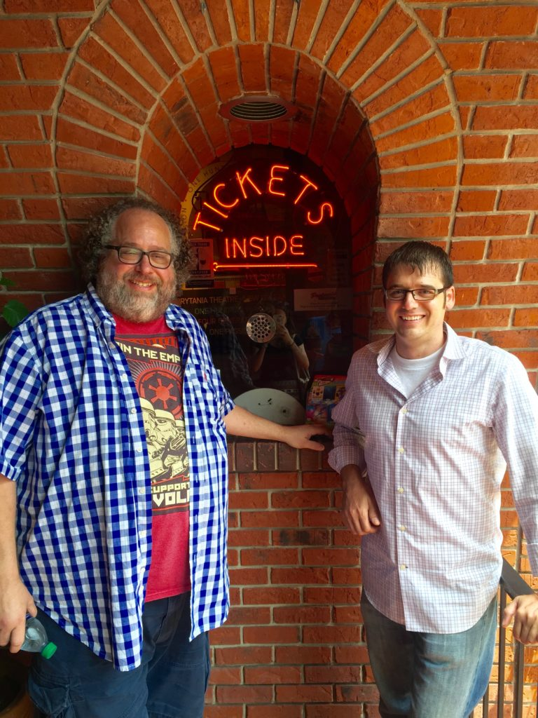Robert Brunet & Eric Ramstead of Prytania Theatre