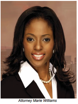 Advertiser: Attorney Marie Williams endorses former ...